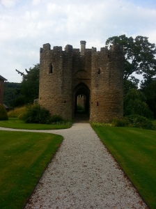 Brampton Bryan Castle, ruined during the Civil War